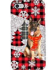 German Shepherd Christmas Phone Case Phone Case i-phone-8-case