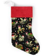 Turtle Christmas Christmas Stocking back