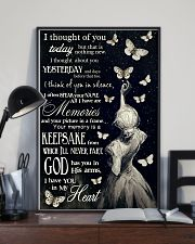 Butterfly I Thought Of You  11x17 Poster lifestyle-poster-2