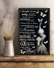 Butterfly I Thought Of You  11x17 Poster lifestyle-poster-3