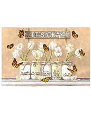 It's Okay Butterfly Poster 17x11 Poster front