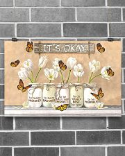 It's Okay Butterfly Poster 17x11 Poster poster-landscape-17x11-lifestyle-18