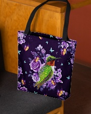 Hummingbird Purple All-over Tote aos-all-over-tote-lifestyle-front-02