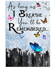 Butterfly You'll Be Remembered Poster 11x17 Poster front