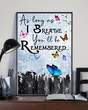 Butterfly You'll Be Remembered Poster 11x17 Poster lifestyle-poster-2
