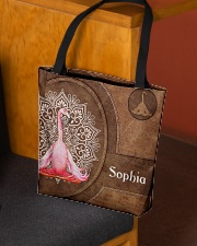 Flamingo Tote Bag All-over Tote aos-all-over-tote-lifestyle-front-02