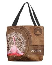 Flamingo Tote Bag All-over Tote back