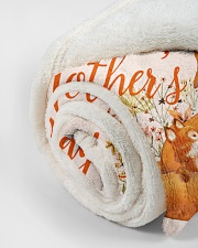 """Mommy You Are Doing A Great Job Small Fleece Blanket - 30"""" x 40"""" aos-coral-fleece-blanket-30x40-lifestyle-front-18"""