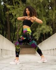 Dragon Rainbow High Waist Leggings aos-high-waist-leggings-lifestyle-12