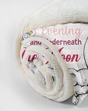 "I Love You Small Fleece Blanket - 30"" x 40"" aos-coral-fleece-blanket-30x40-lifestyle-front-18"