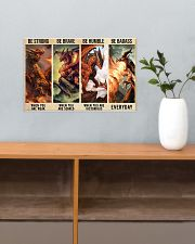 Dragon Be Strong Poster 17x11 Poster poster-landscape-17x11-lifestyle-24