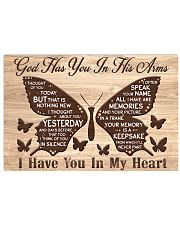 Butterfly I Thought Of You Poster 17x11 Poster front