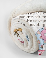 """Happy First Mother's Day Small Fleece Blanket - 30"""" x 40"""" aos-coral-fleece-blanket-30x40-lifestyle-front-18"""