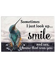 Hummingbird I Know That Was You 17x11 Poster front