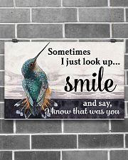 Hummingbird I Know That Was You 17x11 Poster poster-landscape-17x11-lifestyle-18