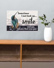 Hummingbird I Know That Was You 17x11 Poster poster-landscape-17x11-lifestyle-24