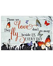 Butterfly Those We Love  17x11 Poster front