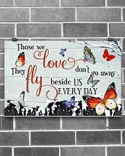 Butterfly Those We Love  17x11 Poster poster-landscape-17x11-lifestyle-18