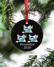 Quilting Essential Circle ornament - single (porcelain) aos-circle-ornament-single-porcelain-lifestyles-07
