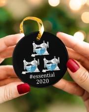 Quilting Essential Circle ornament - single (porcelain) aos-circle-ornament-single-porcelain-lifestyles-08