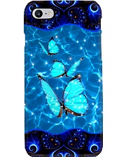 Blue Butterfly Phone Case Phone Case i-phone-8-case