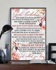 Hummingbird God Called You Home 11x17 Poster lifestyle-poster-2