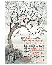 Hummingbird I Thought Of You 11x17 Poster front