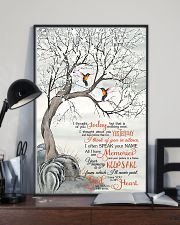 Hummingbird I Thought Of You 11x17 Poster lifestyle-poster-2