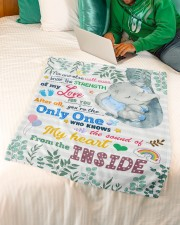 """The Strength Of Love For You Small Fleece Blanket - 30"""" x 40"""" aos-coral-fleece-blanket-30x40-lifestyle-front-07a"""