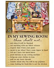 In My Sewing Room Poster 11x17 Poster front