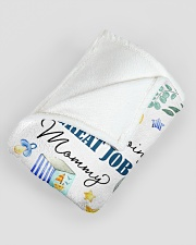 """You're Doing A Great Job Mommy  Large Fleece Blanket - 60"""" x 80"""" aos-coral-fleece-blanket-60x80-lifestyle-front-07"""