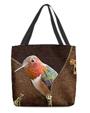 Hummingbird All-over Tote back