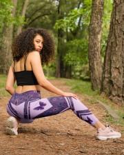 Butterfly Purple High Waist Leggings aos-high-waist-leggings-lifestyle-18
