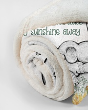 """You Are My Sunshine  Small Fleece Blanket - 30"""" x 40"""" aos-coral-fleece-blanket-30x40-lifestyle-front-18"""