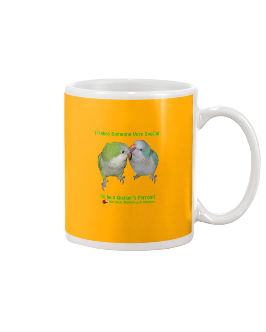 Coffee with my Quaker Mug