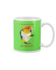 Coffee with my Caique  Mug thumbnail