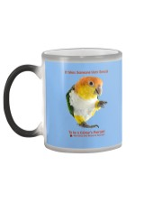 Coffee with my Caique  Color Changing Mug color-changing-left