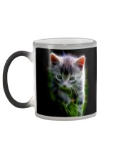Baby Fractal Cat Color Changing Coffee Mug Cat Color Changing Mug color-changing-left