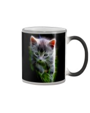 Baby Fractal Cat Color Changing Coffee Mug Cat Color Changing Mug color-changing-right