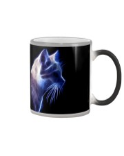 Cat Lovers - Fractal Cat Mug Color Changing Color Changing Mug color-changing-right