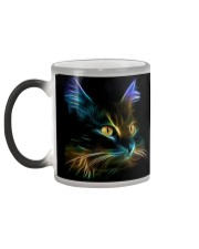 Cat Lover - Fractal Cat Coffee Mug 2017  Color Changing Mug color-changing-left