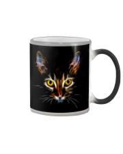 Cat Lovers - Fractal Cat Mug Color Changing Color Changing Mug color-changing-right
