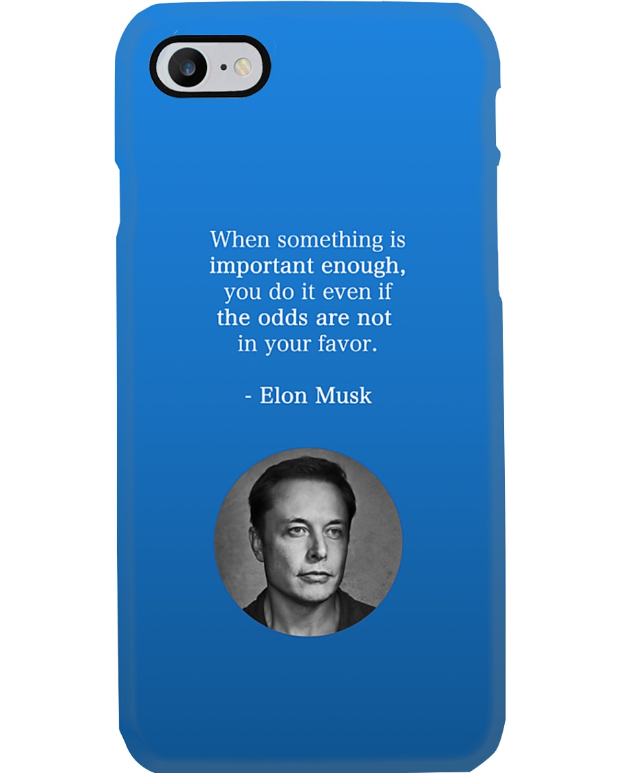 Elon Musk phone case by Philosopher Phone Case