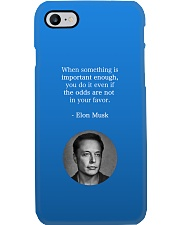 Elon Musk phone case by Philosopher Phone Case i-phone-7-case
