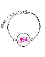Bimbo Jewelry Metallic Circle Bracelet front