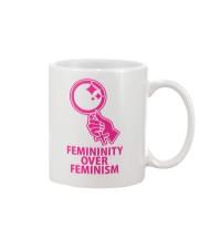 Femininity Over Feminism Mug thumbnail