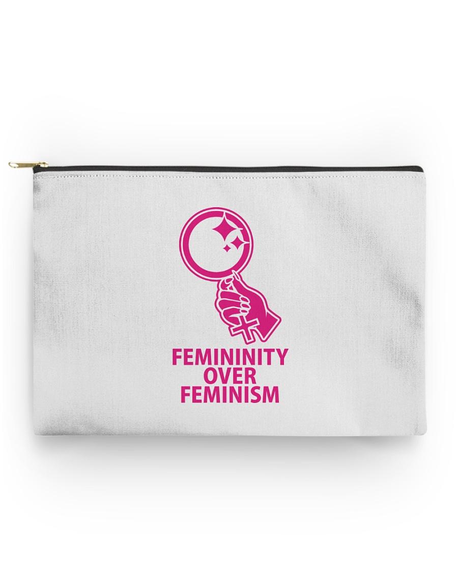 Femininity Over Feminism Accessory Pouch - Standard