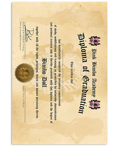 Official PBA Graduation Diploma for Bimbo Dolls