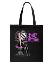 Goth Bimbo Tote Bag tile