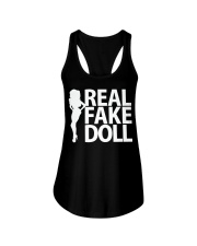 Real Fake Doll - White Ladies Flowy Tank thumbnail